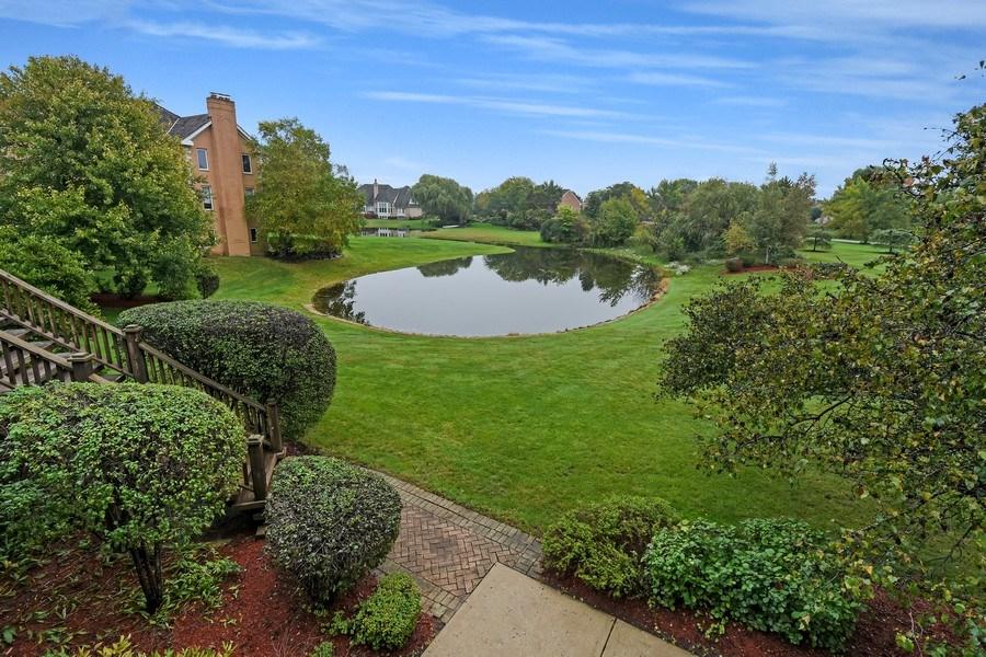 Real Estate Photography - 1 Brookhaven Cir, South Barrington, IL, 60010 - Lake View