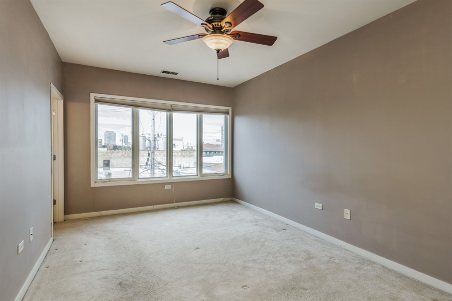 Real Estate Photography - 912 West Chicago Avenue, 201, Chicago, IL, 60642 - Bedroom