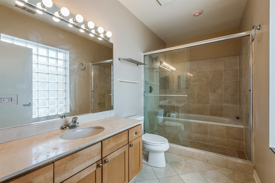 Real Estate Photography - 912 West Chicago Avenue, 201, Chicago, IL, 60642 - Bathroom