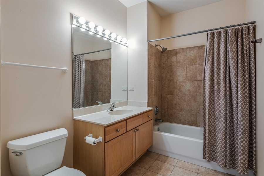 Real Estate Photography - 912 West Chicago Avenue, 201, Chicago, IL, 60642 - 2nd Bathroom