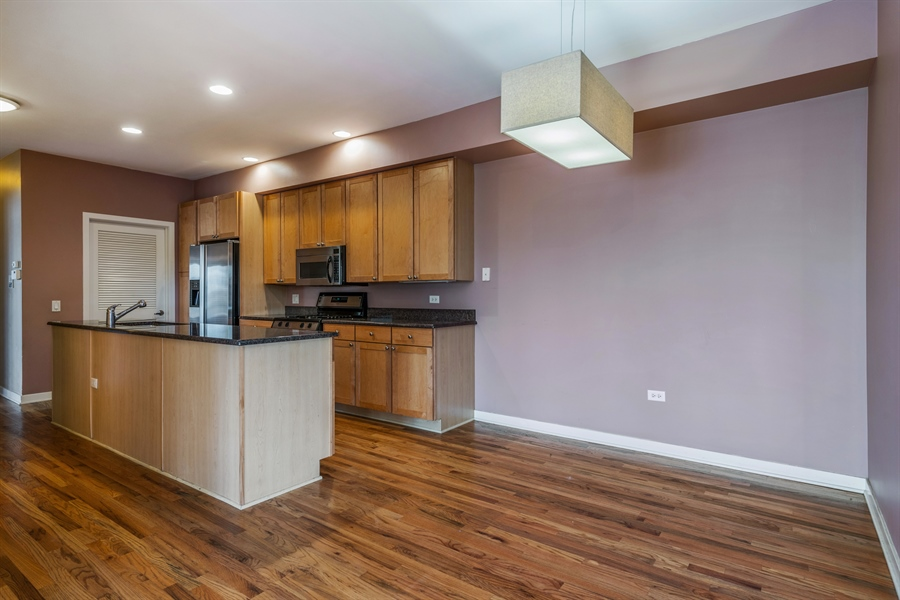 Real Estate Photography - 912 West Chicago Avenue, 201, Chicago, IL, 60642 - Kitchen / Dining Room