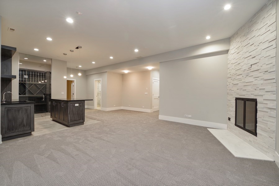 Real Estate Photography - 711 Juniper Rd, Glenview, IL, 60026 - Basement
