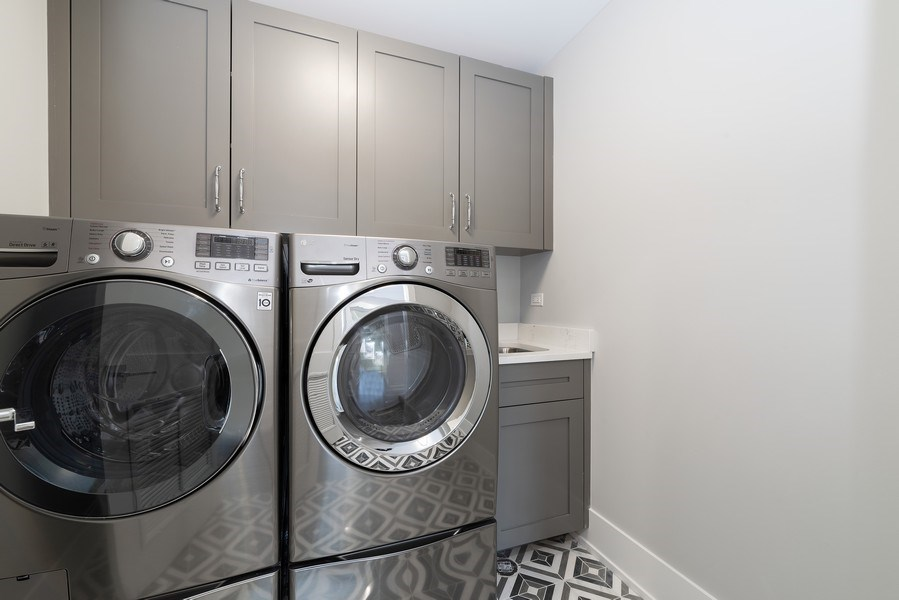 Real Estate Photography - 711 Juniper Rd, Glenview, IL, 60026 - Laundry Room