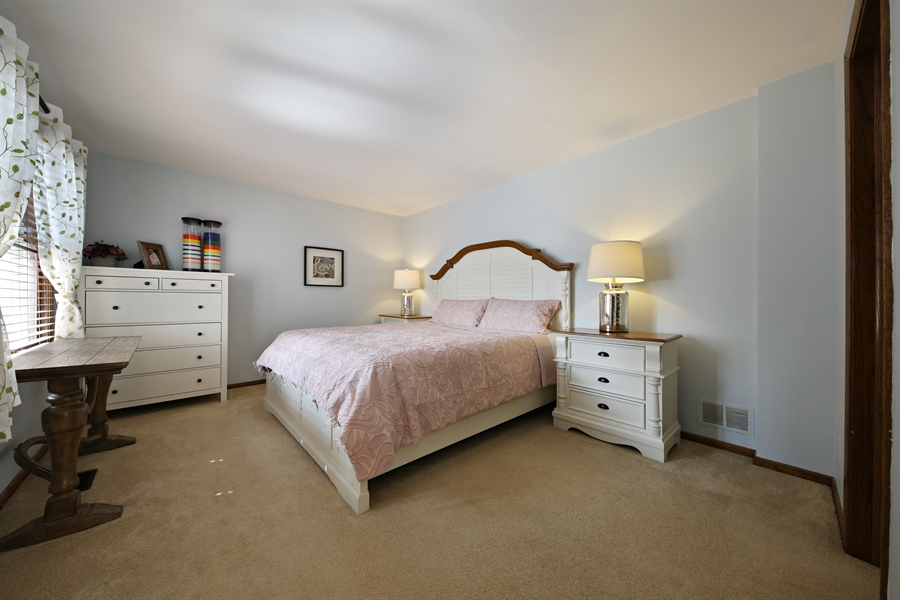 Real Estate Photography - 190 e columbia, elmhurst, IL, 60126 - 1st Floor Bedroom