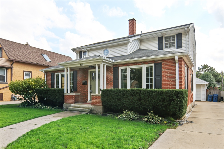 Real Estate Photography - 190 e columbia, elmhurst, IL, 60126 - Front View