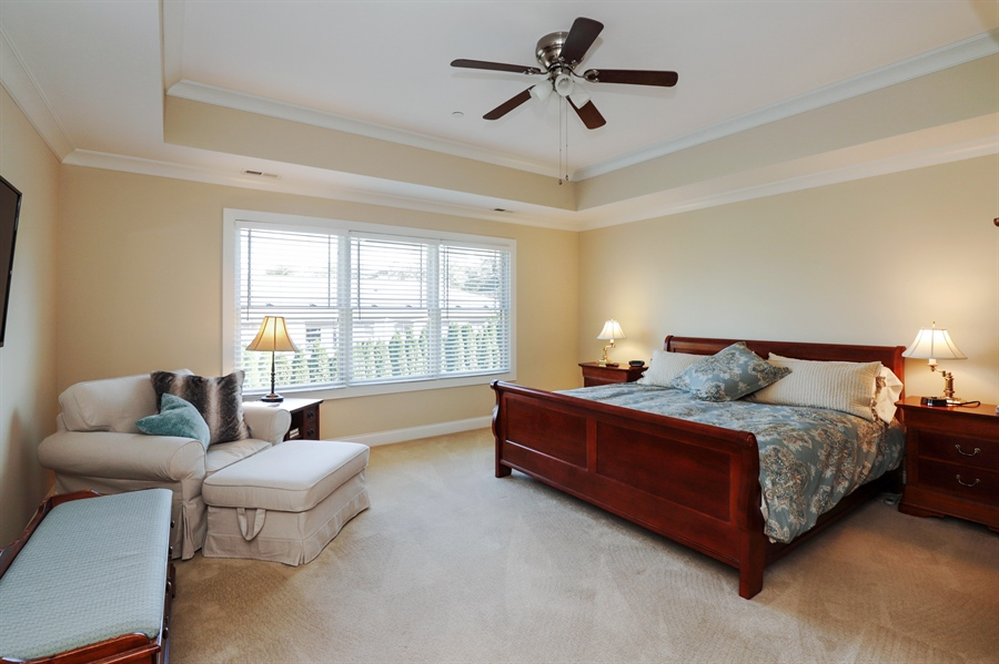 Real Estate Photography - 924 Wheeler, Libertyville, IL, 60048 - Master Bedroom