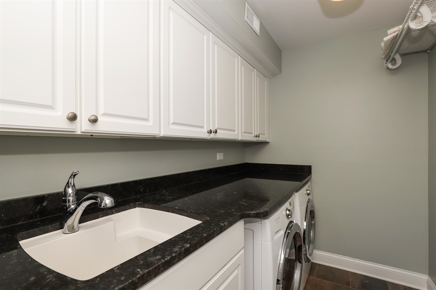 Real Estate Photography - 924 Wheeler, Libertyville, IL, 60048 - Laundry Room