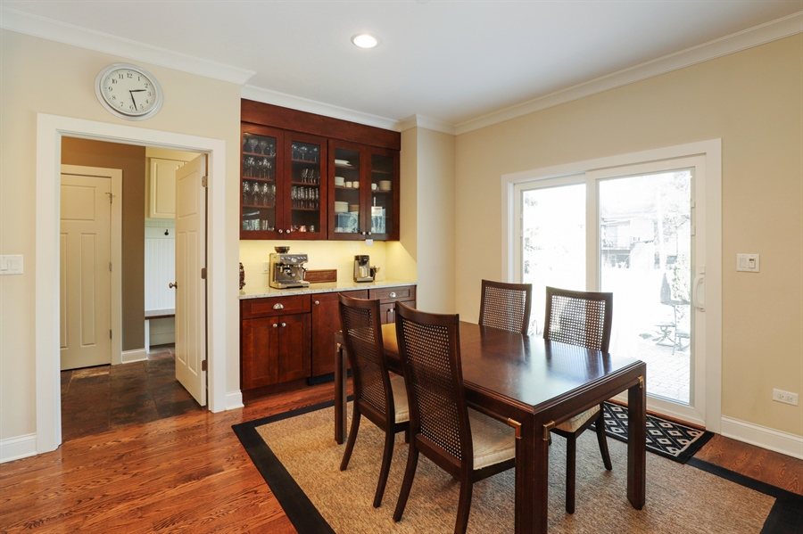 Real Estate Photography - 924 Wheeler, Libertyville, IL, 60048 - Breakfast Area