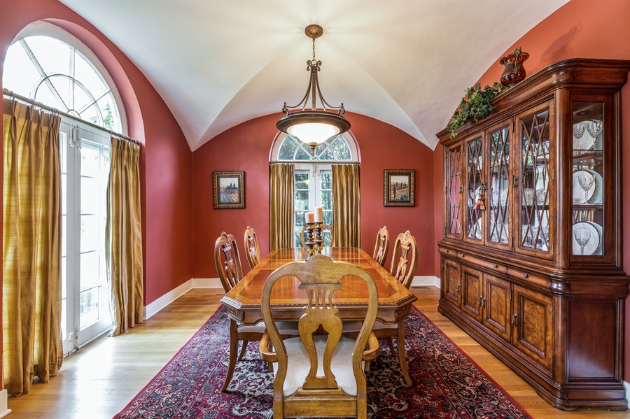 Real Estate Photography - 293 Longcommon Rd, Riverside, IL, 60546 - Dining Room