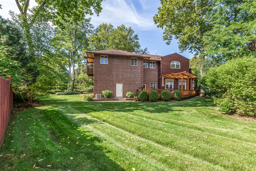 Real Estate Photography - 293 Longcommon Rd, Riverside, IL, 60546 - Rear View