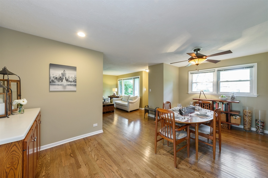 Real Estate Photography - 103 Coldren Dr, Prospect Heights, IL, 60070 - Dining Room