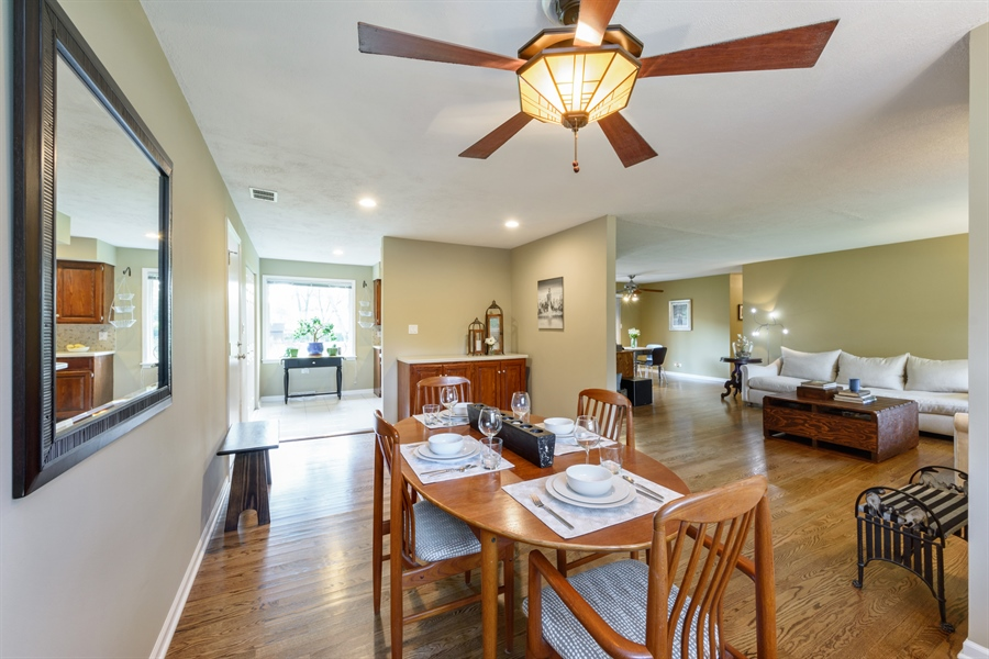 Real Estate Photography - 103 Coldren Dr, Prospect Heights, IL, 60070 - Living Room/Dining Room