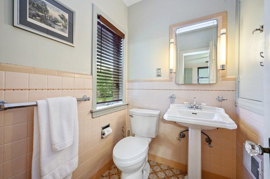 Real Estate Photography - 1210 Woodbine Ave, Oak Park, IL, 60302 - Master Bathroom