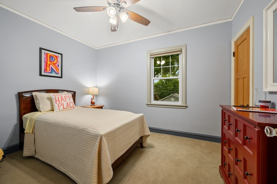 Real Estate Photography - 1210 Woodbine Ave, Oak Park, IL, 60302 - 2nd Bedroom
