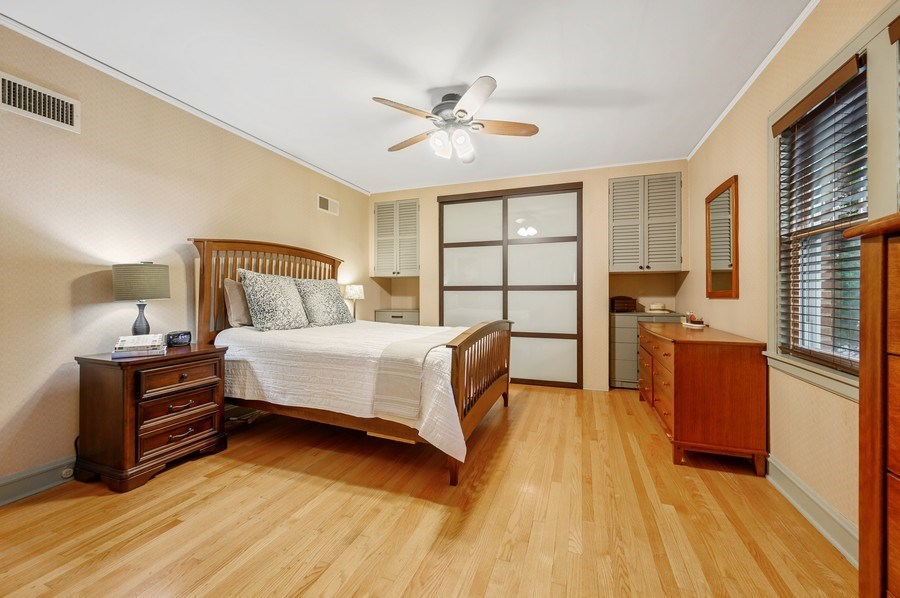 Real Estate Photography - 1210 Woodbine Ave, Oak Park, IL, 60302 - Master Bedroom