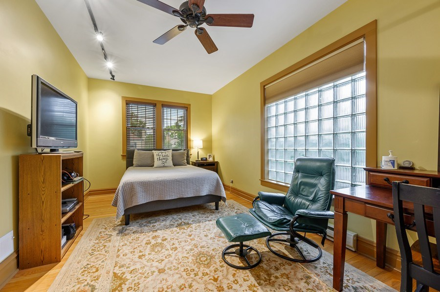 Real Estate Photography - 1210 Woodbine Ave, Oak Park, IL, 60302 - Bedroom