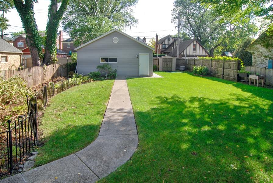 Real Estate Photography - 1210 Woodbine Ave, Oak Park, IL, 60302 - Back Yard