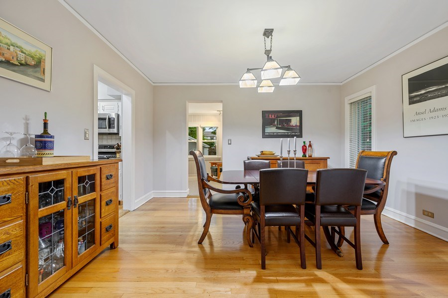 Real Estate Photography - 1210 Woodbine Ave, Oak Park, IL, 60302 - Dining Room