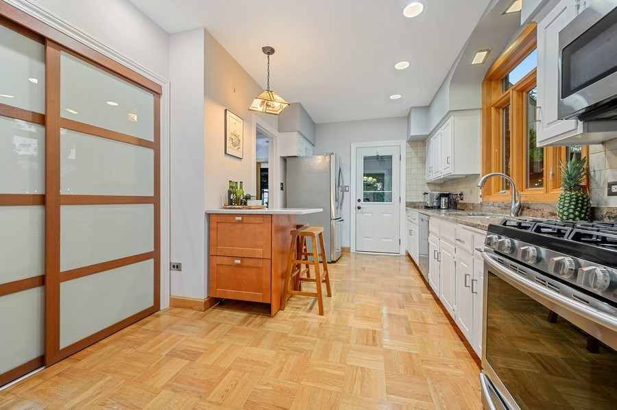 Real Estate Photography - 1210 Woodbine Ave, Oak Park, IL, 60302 - Kitchen