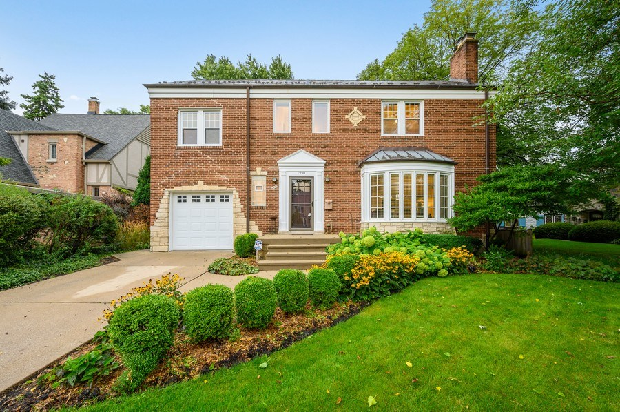 Real Estate Photography - 1210 Woodbine Ave, Oak Park, IL, 60302 - Front View