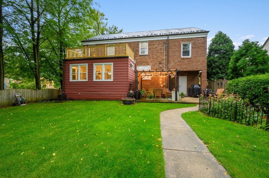 Real Estate Photography - 1210 Woodbine Ave, Oak Park, IL, 60302 - Rear View