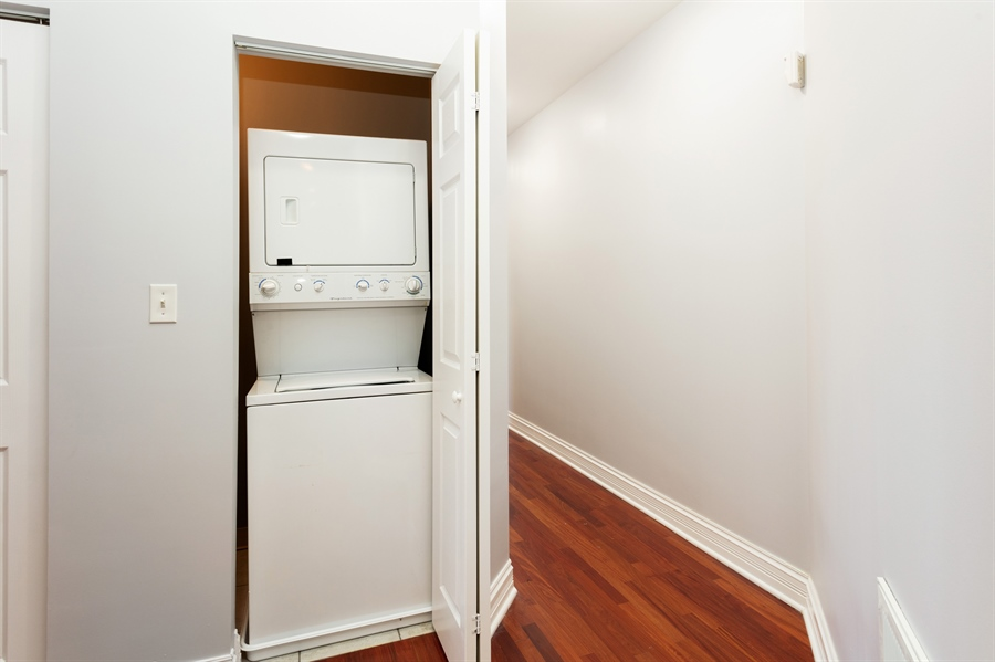Real Estate Photography - 5023 S Michigan Ave, Unit 3, Chicago, IL, 60615 - Laundry Room
