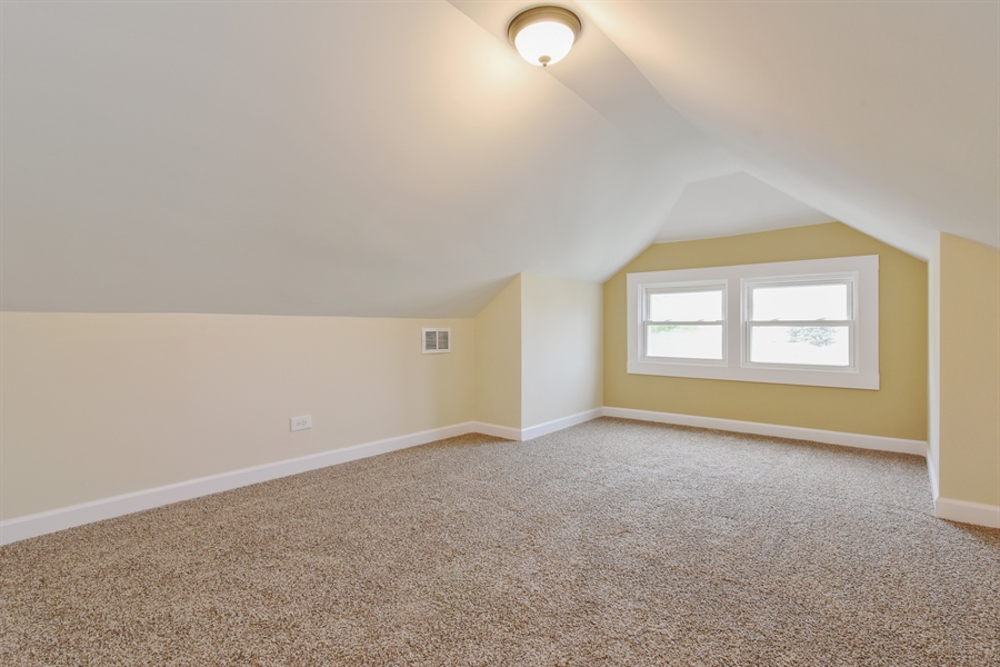 Real Estate Photography - 2341 N Mango, Chicago, IL, 60639 - 3rd Bedroom