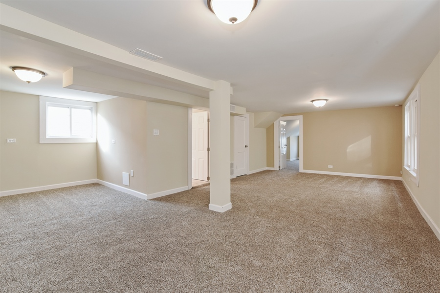 Real Estate Photography - 2341 N Mango, Chicago, IL, 60639 - Lower Level