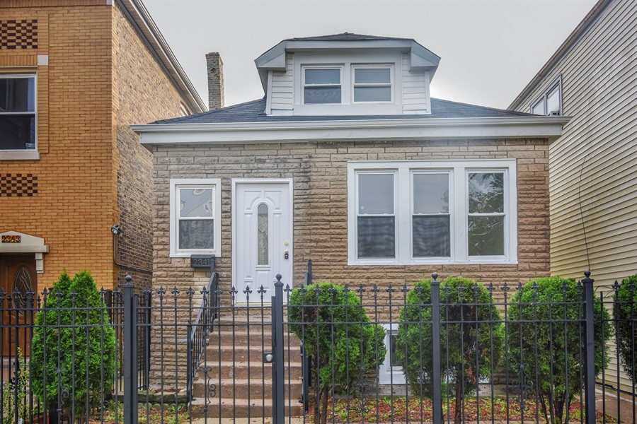 Real Estate Photography - 2341 N Mango, Chicago, IL, 60639 - Front View
