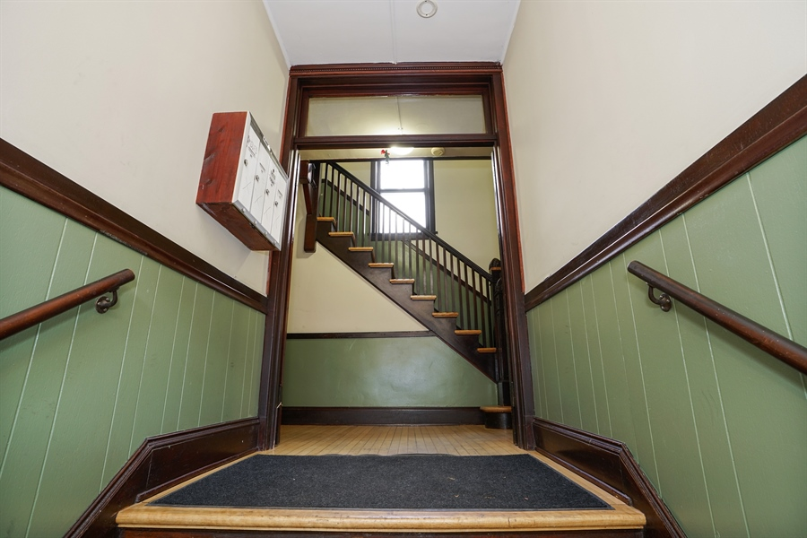 Real Estate Photography - 3702-3704 North Hoyne, chicago, IL, 60618 - Foyer