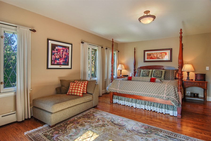 Real Estate Photography - 907 Lathrop, River Forest, IL, 60305 - Master Bedroom