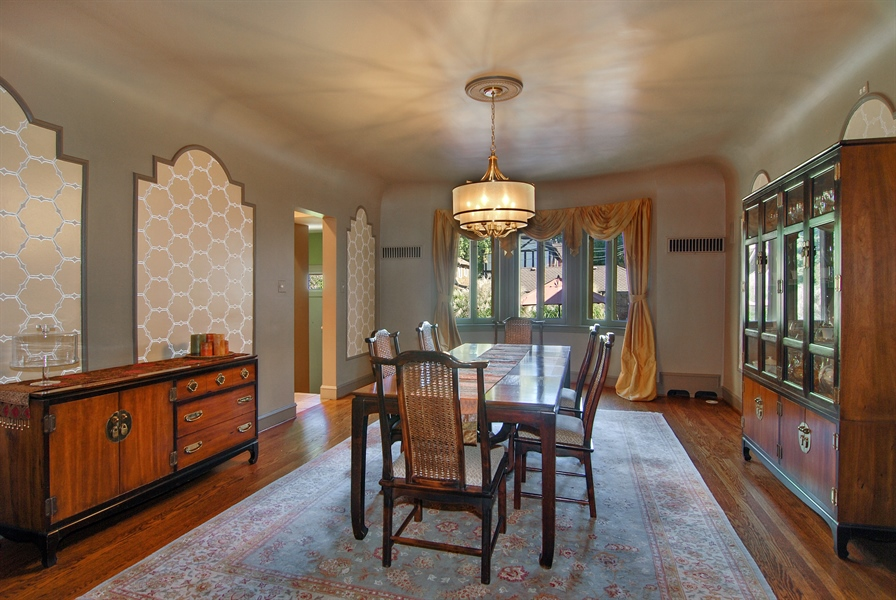 Real Estate Photography - 907 Lathrop, River Forest, IL, 60305 - Dining Room