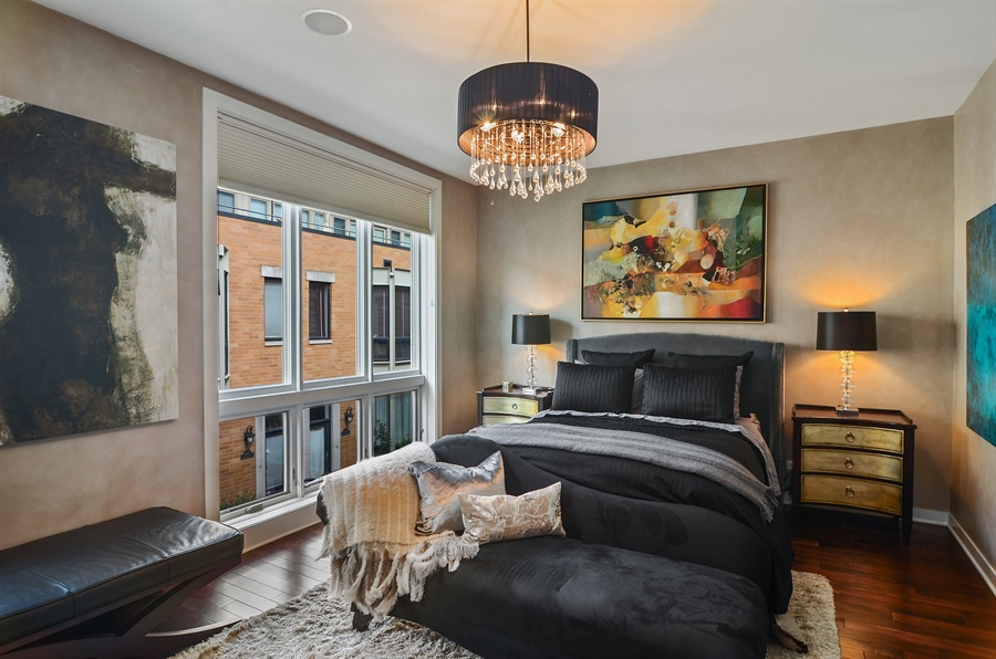 Real Estate Photography - 650 W Fulton, C, Chicago, IL, 60661 - Master Bedroom