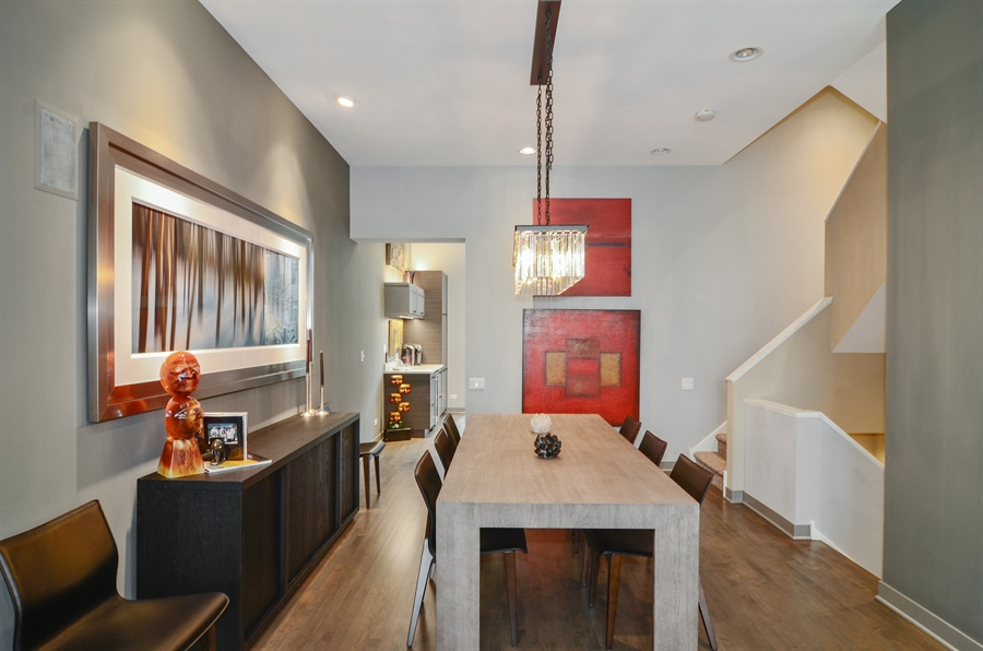 Real Estate Photography - 650 W Fulton, C, Chicago, IL, 60661 - Dining Room