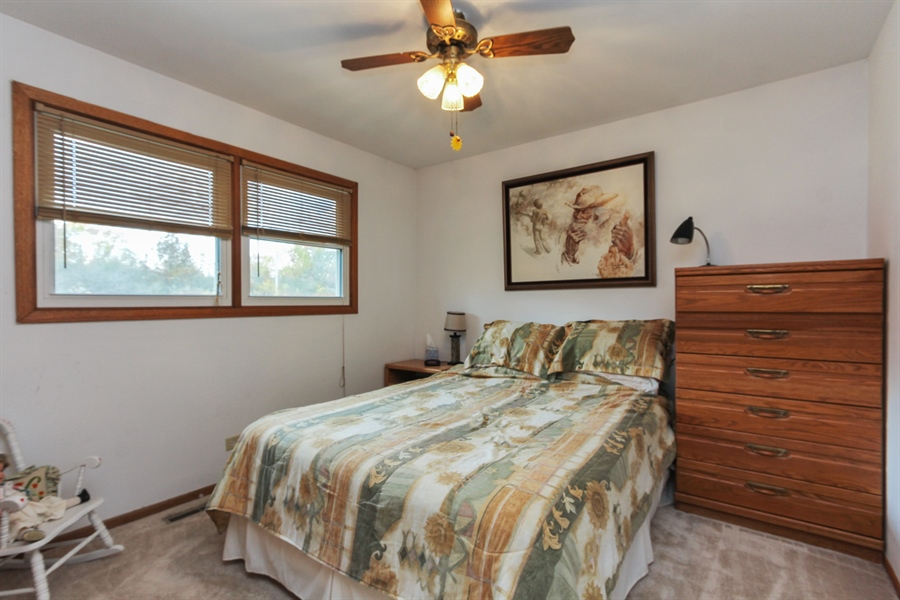 Real Estate Photography - 43411 N Lake Ave, Antioch, IL, 60002 - 3rd Bedroom