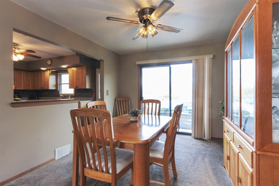 Real Estate Photography - 43411 N Lake Ave, Antioch, IL, 60002 - Dining Room
