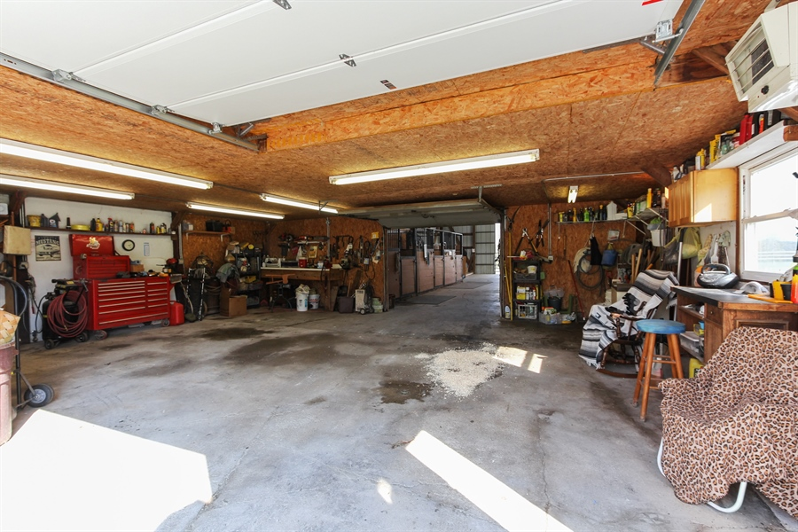 Real Estate Photography - 43411 N Lake Ave, Antioch, IL, 60002 - Garage