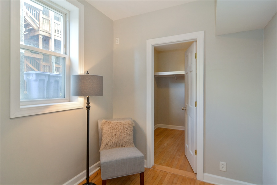 Real Estate Photography - 2744 N Bosworth, G, Chicago, IL, 60614 - Bedroom
