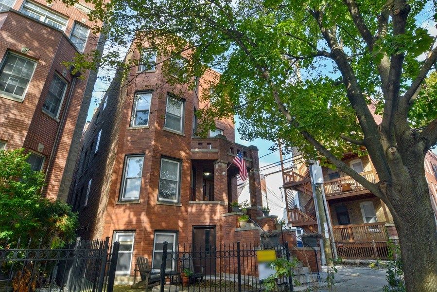 Real Estate Photography - 2744 N Bosworth, G, Chicago, IL, 60614 - Front View