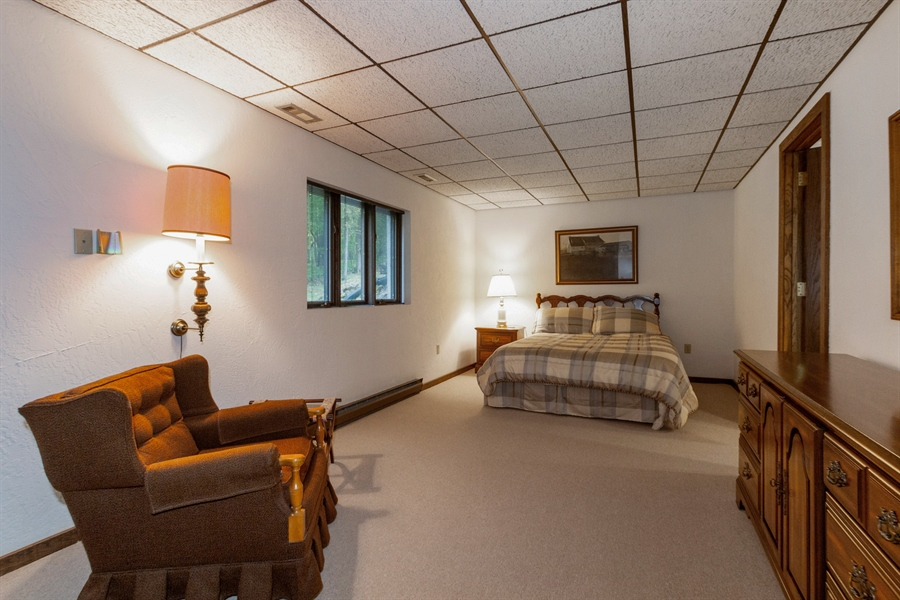 Real Estate Photography - W3460 Mcdonald Rd., Lake Geneva, WI, 53147 - 3rd Bedroom