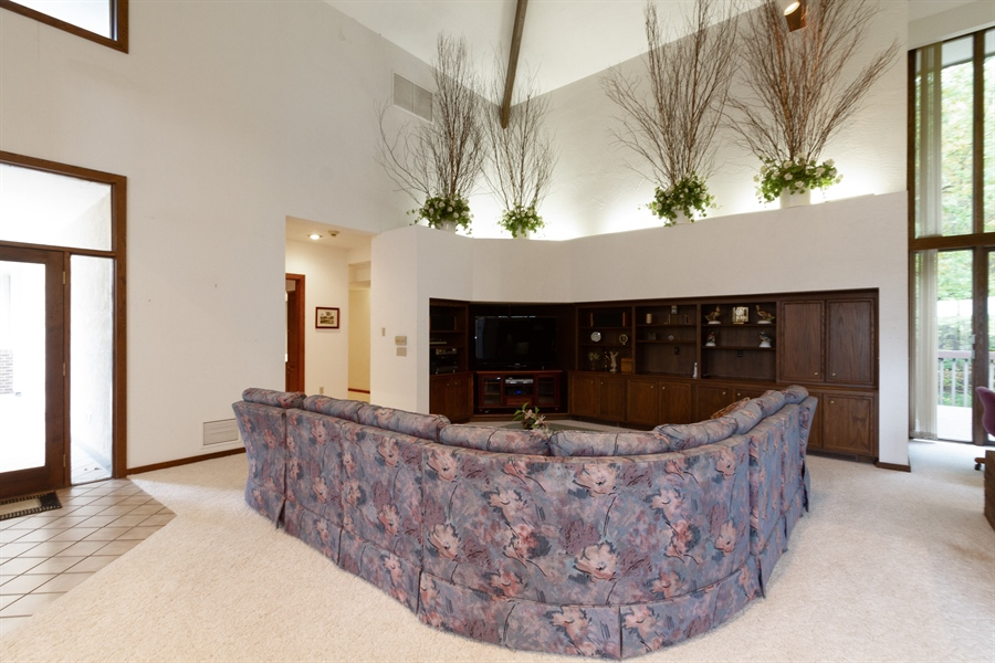 Real Estate Photography - W3460 Mcdonald Rd., Lake Geneva, WI, 53147 - Great room