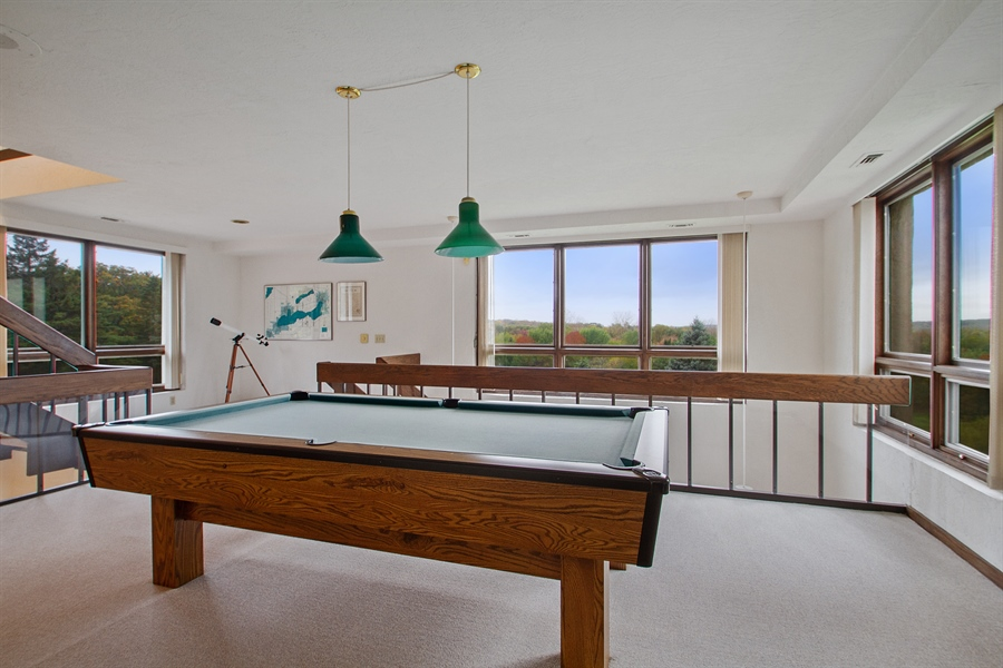Real Estate Photography - W3460 Mcdonald Rd., Lake Geneva, WI, 53147 - Pool Room