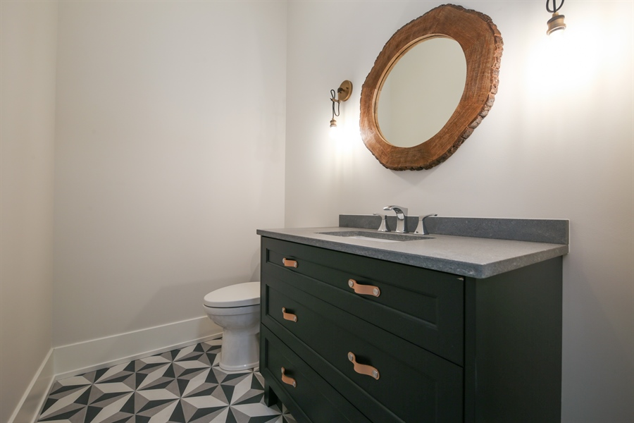 Real Estate Photography - 135 Willow, Elmhurst, IL, 60126 - Powder Room
