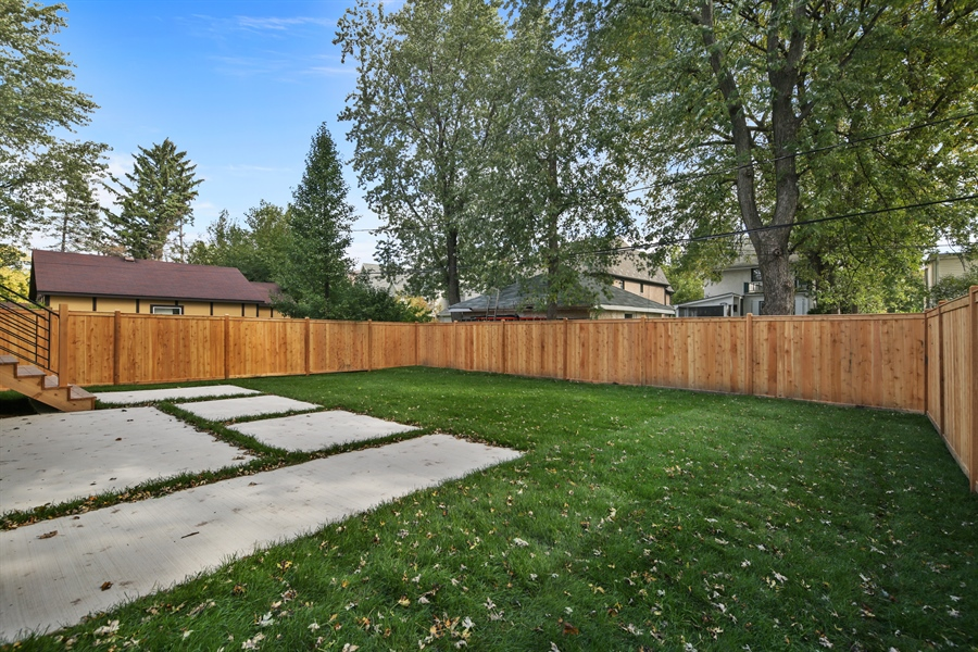 Real Estate Photography - 135 Willow, Elmhurst, IL, 60126 - Back Yard