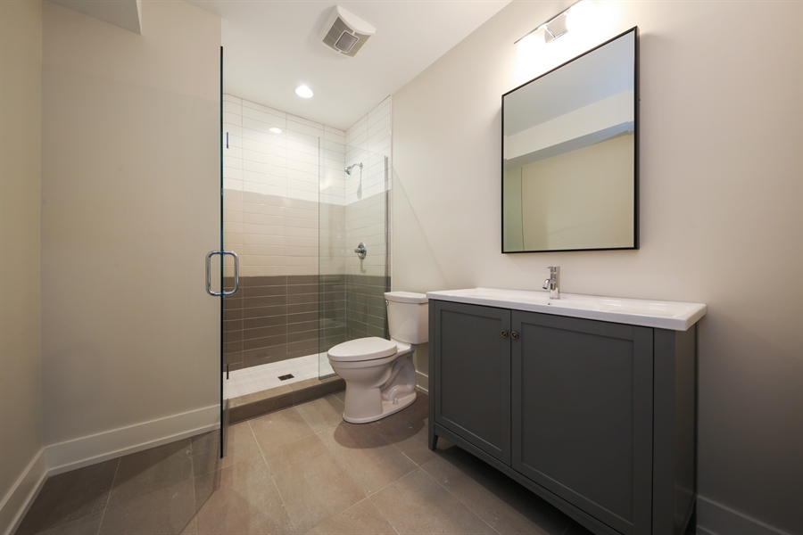 Real Estate Photography - 135 Willow, Elmhurst, IL, 60126 - Bathroom