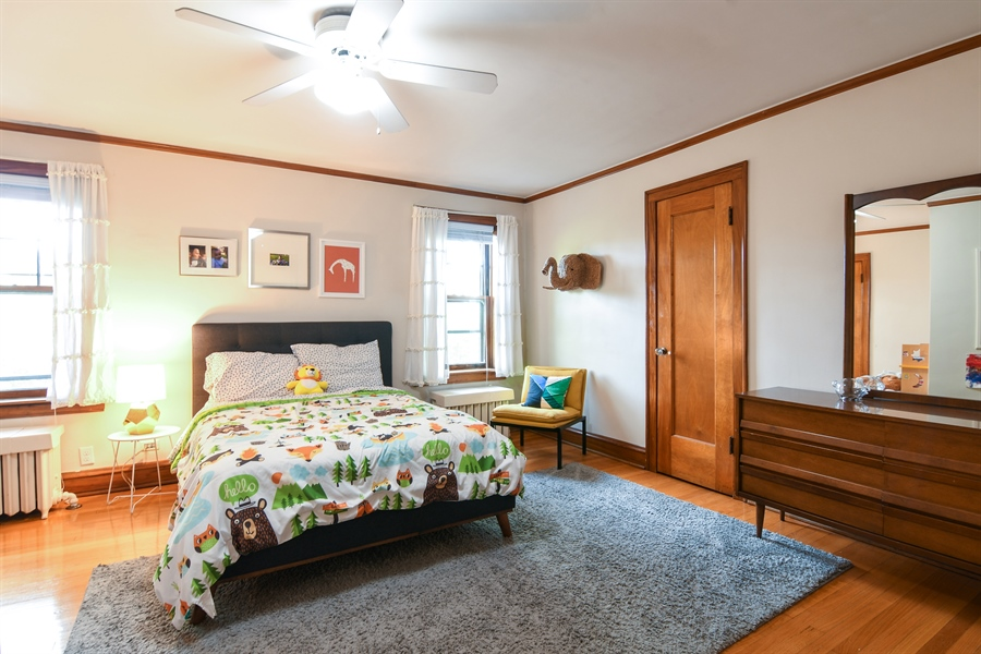 Real Estate Photography - 422 Berkshire St, Oak Park, IL, 60302 - 2nd Bedroom