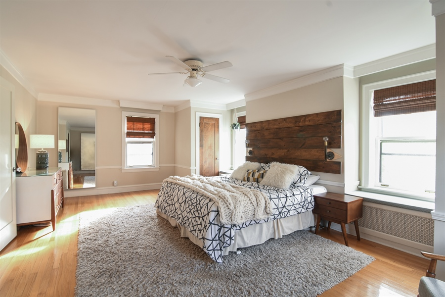 Real Estate Photography - 422 Berkshire St, Oak Park, IL, 60302 - Master Bedroom