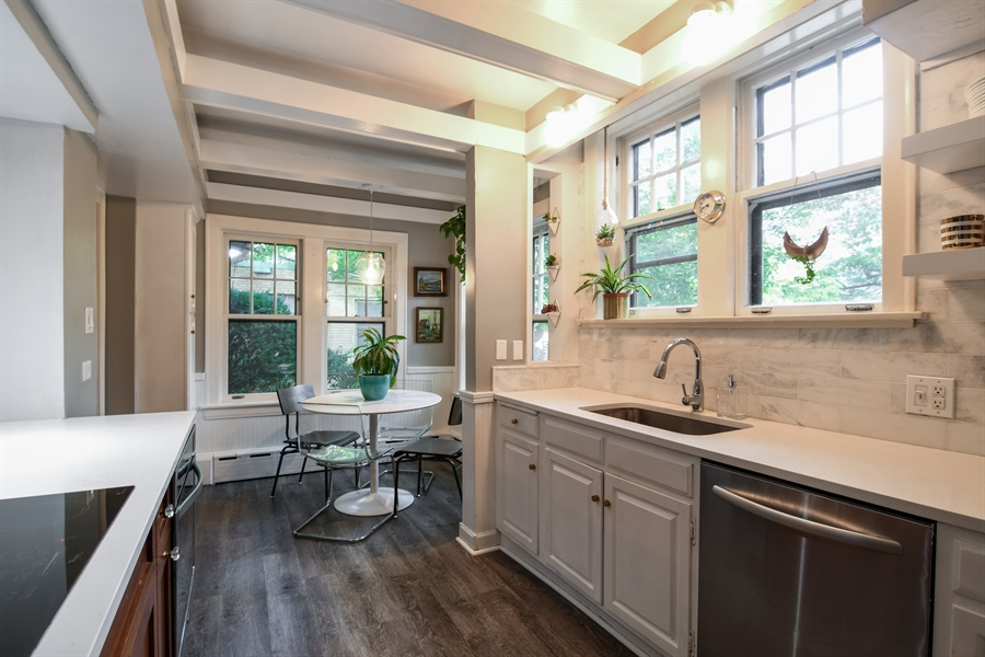 Real Estate Photography - 422 Berkshire St, Oak Park, IL, 60302 - Kitchen / Breakfast Room