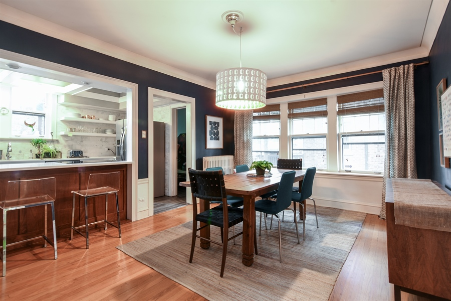 Real Estate Photography - 422 Berkshire St, Oak Park, IL, 60302 - Dining Room