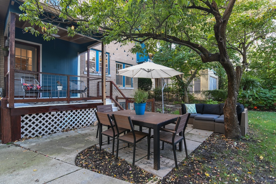 Real Estate Photography - 422 Berkshire St, Oak Park, IL, 60302 - Patio